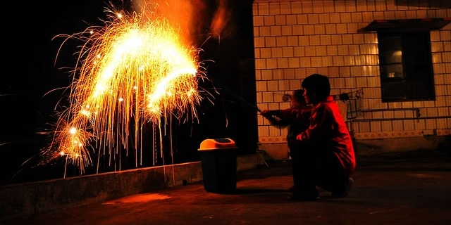 Празднование китайского Нового года