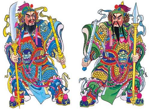 Китайский Бог дверей